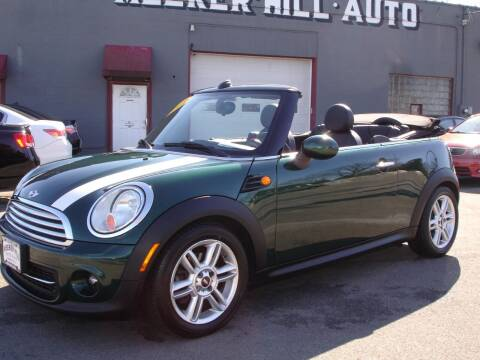 2013 MINI Convertible for sale at Meeker Hill Auto Sales in Germantown WI