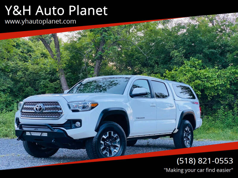 2016 Toyota Tacoma for sale at Y&H Auto Planet in West Sand Lake NY