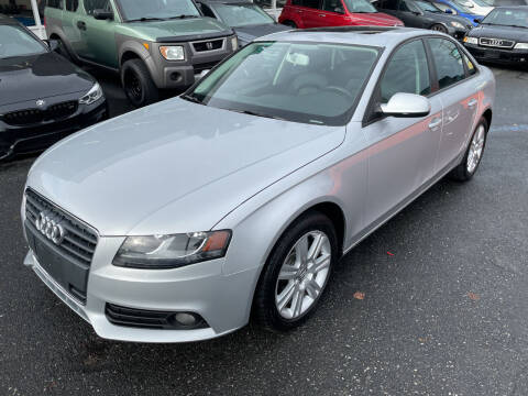 2011 Audi A4 for sale at APX Auto Brokers in Edmonds WA