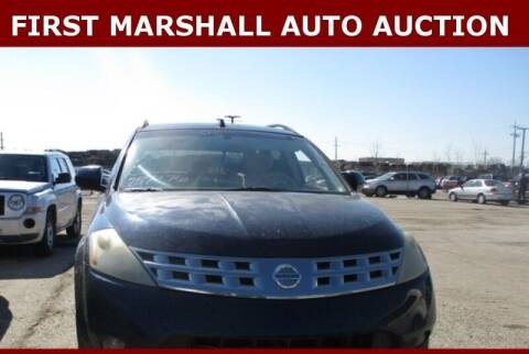 2003 Nissan Murano for sale at First Marshall Auto Auction in Harvey IL