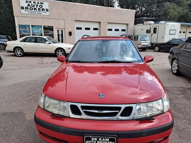 2001 Saab 9-5 for sale at De Kam Auto Brokers in Colorado Springs CO