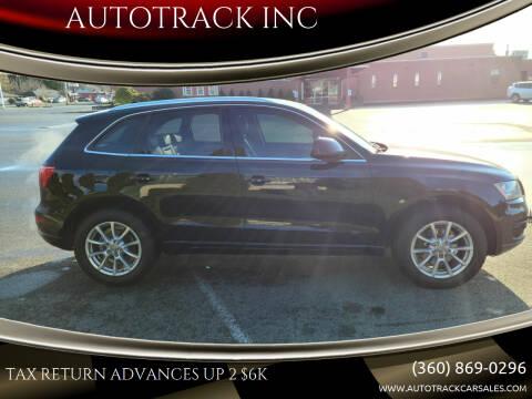 2009 Audi Q5 for sale at AUTOTRACK INC in Mount Vernon WA