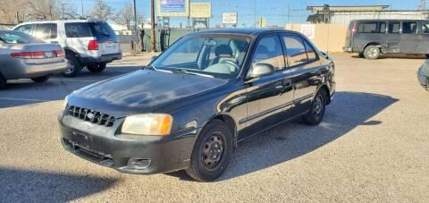 2000 Hyundai Accent for sale at One Community Auto LLC in Albuquerque NM