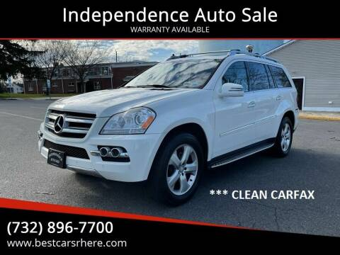 2011 Mercedes-Benz GL-Class for sale at Independence Auto Sale in Bordentown NJ