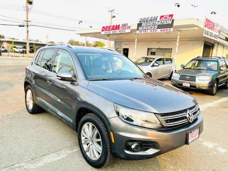 2014 Volkswagen Tiguan for sale at Dream Motors in Sacramento CA