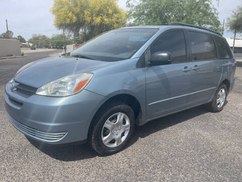 2005 Toyota Sienna for sale at Tucson Auto Sales in Tucson AZ