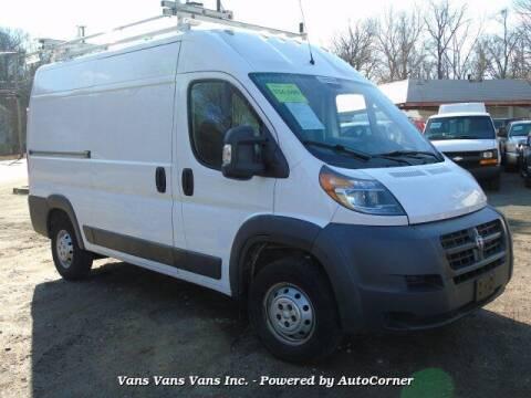 2014 RAM ProMaster Cargo for sale at Vans Vans Vans INC in Blauvelt NY