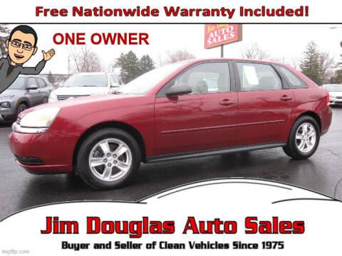 2005 Chevrolet Malibu Maxx for sale at Jim Douglas Auto Sales in Pontiac MI