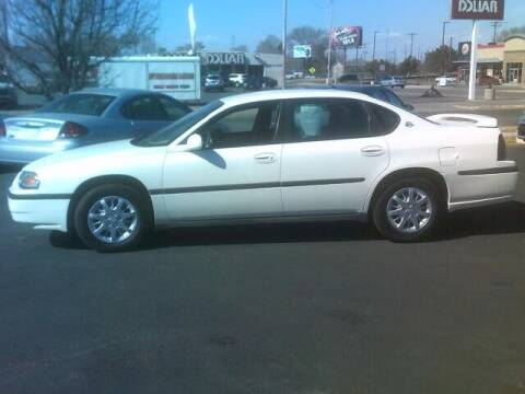2004 Chevrolet Impala for sale at University Auto Sales Inc in Pocatello ID