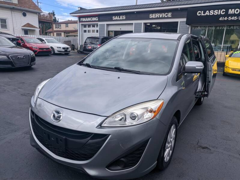 2013 Mazda MAZDA5 for sale at CLASSIC MOTOR CARS in West Allis WI