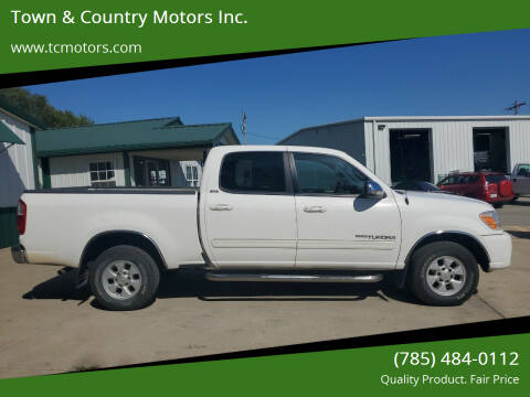2006 Toyota Tundra for sale at Town & Country Motors Inc. in Meriden KS