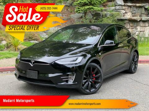 2017 Tesla Model X for sale at Mudarri Motorsports in Kirkland WA