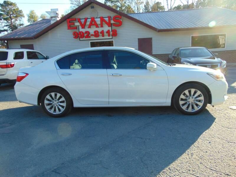2014 Honda Accord for sale at Evans Motors Inc in Little Rock AR