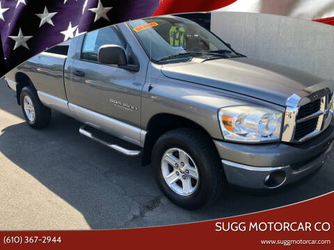 2007 Dodge Ram Pickup 1500 for sale at Sugg Motorcar Co in Boyertown PA