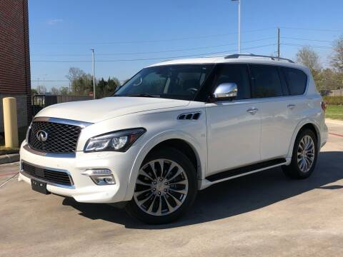 2016 Infiniti QX80 for sale at AUTO DIRECT in Houston TX