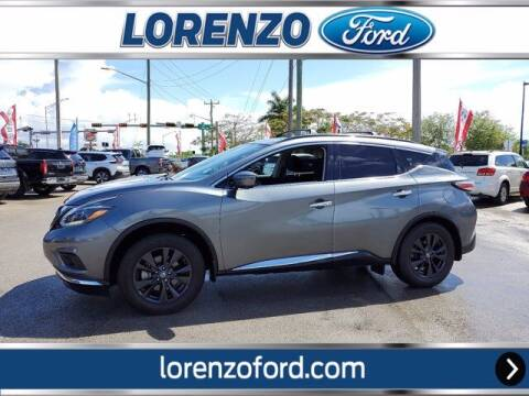2018 Nissan Murano for sale at Lorenzo Ford in Homestead FL