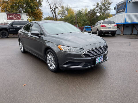 2017 Ford Fusion for sale at City Center Cars and Trucks in Roseburg OR