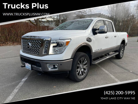 2016 Nissan Titan XD for sale at Trucks Plus in Seattle WA