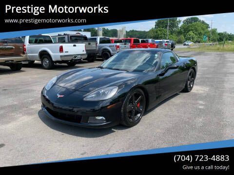 2008 Chevrolet Corvette for sale at Prestige Motorworks in Concord NC