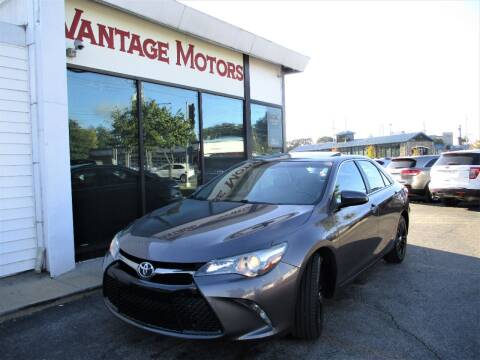 2016 Toyota Camry for sale at Vantage Motors LLC in Raytown MO