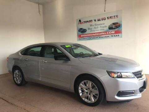 2017 Chevrolet Impala for sale at Antonio's Auto Sales in South Houston TX