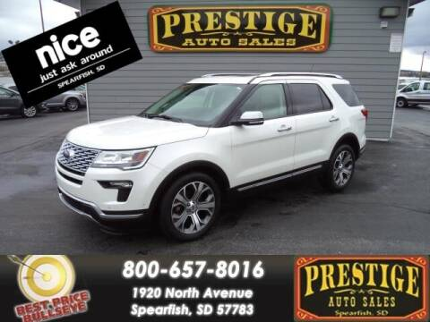 2019 Ford Explorer for sale at PRESTIGE AUTO SALES in Spearfish SD