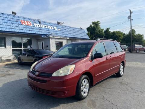 2005 Toyota Sienna for sale at RD Motors, Inc in Charlotte NC