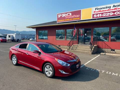 2015 Hyundai Sonata Hybrid for sale at Pro Motors in Roseburg OR