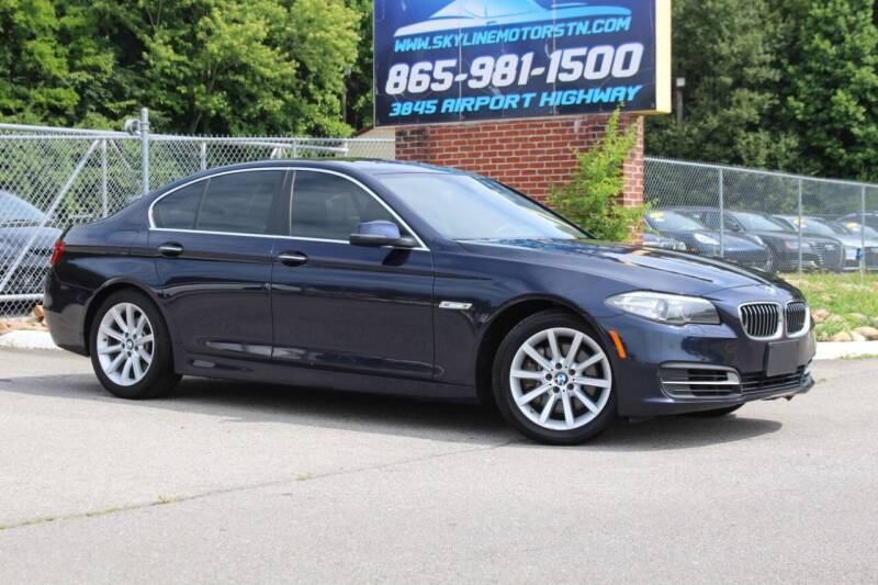 2014 BMW 5 Series for sale at Skyline Motors in Louisville TN