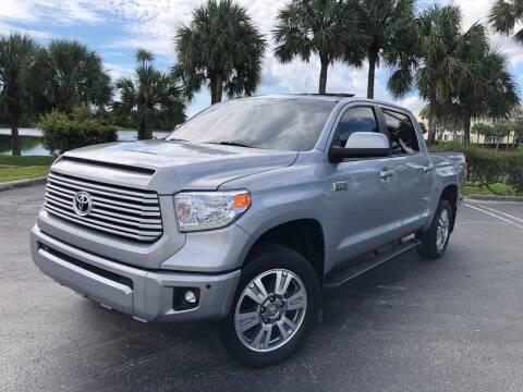 2017 Toyota Tundra for sale at Vogue Auto Sales in Pompano Beach FL