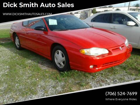 2004 Chevrolet Monte Carlo for sale at Dick Smith Auto Sales in Augusta GA