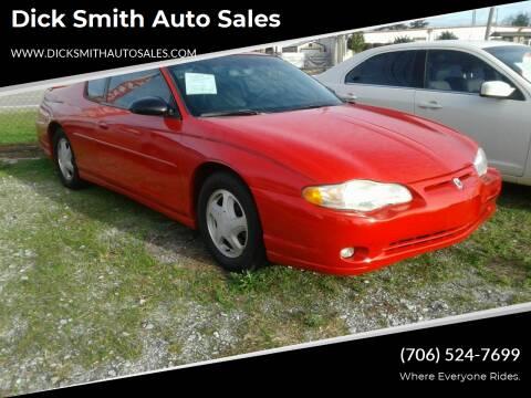2004 Chevrolet Monte Carlo for sale at Dick Smith Auto Sales in Augusta GA
