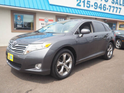 2010 Toyota Venza for sale at B & D Auto Sales Inc. in Fairless Hills PA