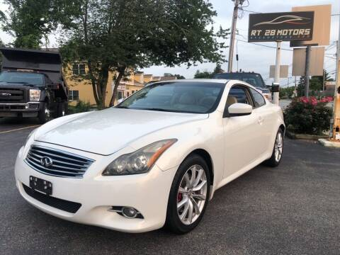 2011 Infiniti G37 Coupe for sale at RT28 Motors in North Reading MA