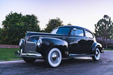1941 Plymouth Deluxe for sale at Classic Car Deals in Cadillac MI