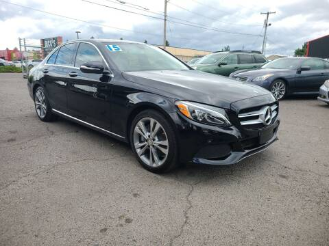 2015 Mercedes-Benz C-Class for sale at Universal Auto Sales in Salem OR