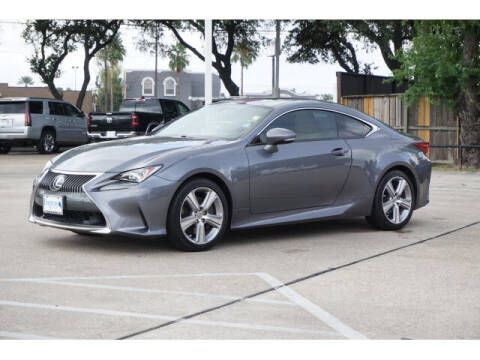 2016 Lexus RC 200t for sale at BAYWAY Certified Pre-Owned in Houston TX