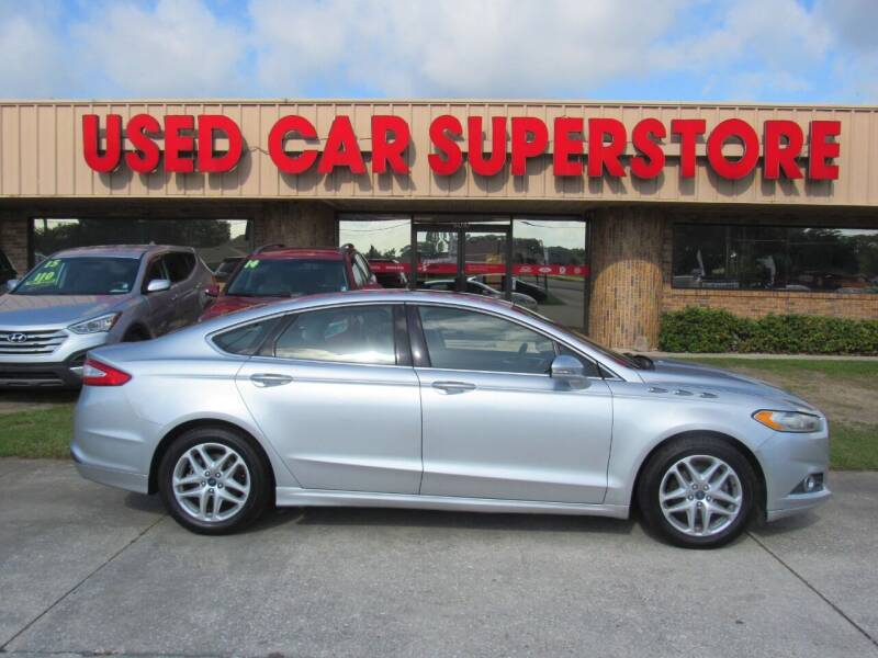 2013 Ford Fusion for sale at Checkered Flag Auto Sales NORTH in Lakeland FL