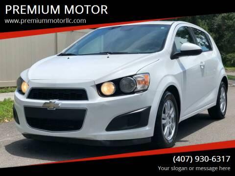 2012 Chevrolet Sonic for sale at PREMIUM MOTOR in Orlando FL