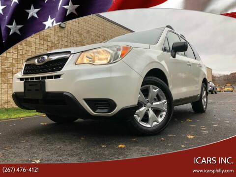Subaru For Sale In Philadelphia Pa Icars Inc