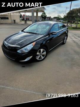 2012 Hyundai Sonata Hybrid for sale at Z AUTO MART in Lewisville TX