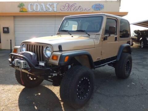 1999 Jeep Wrangler for sale at Coast Motors in Arroyo Grande CA
