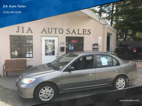 2005 Honda Civic for sale at JIA Auto Sales in Port Monmouth NJ