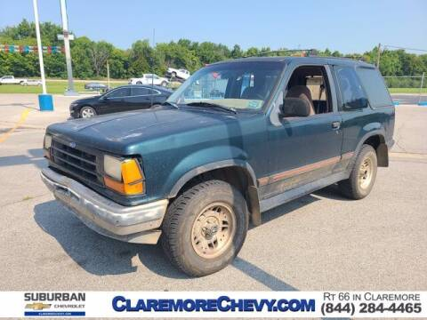 1994 Ford Explorer for sale at Suburban Chevrolet in Claremore OK
