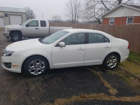 2010 Ford Fusion for sale at David Shiveley in Mount Orab OH