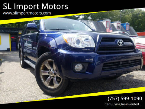 2006 Toyota 4Runner for sale at SL Import Motors in Newport News VA