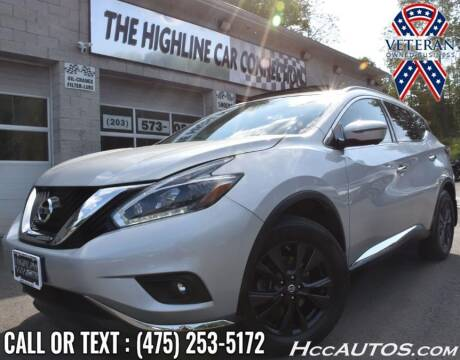 2018 Nissan Murano for sale at The Highline Car Connection in Waterbury CT