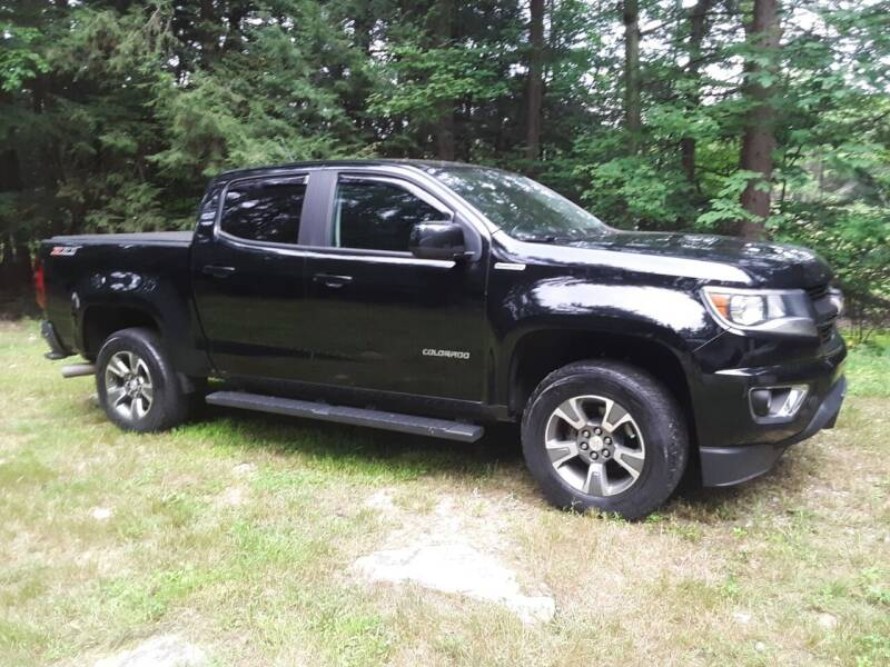 2016 Chevrolet Colorado for sale at H P M Sales in Goffstown NH
