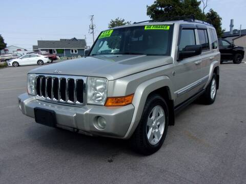 2007 Jeep Commander for sale at Ideal Auto Sales, Inc. in Waukesha WI
