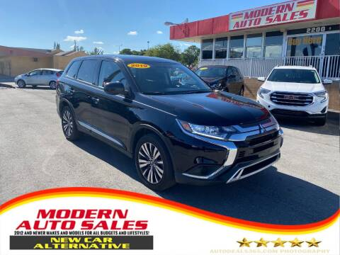 2019 Mitsubishi Outlander for sale at Modern Auto Sales in Hollywood FL